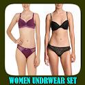 Women Underwear Set icon