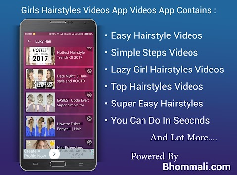 Download Girls Hairstyle Videos App APK Latest Version App For - Easy hairstyle videos download