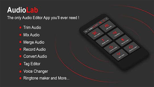 AudioLab-Audio Editor Recorder MOD (Unlocked) 1