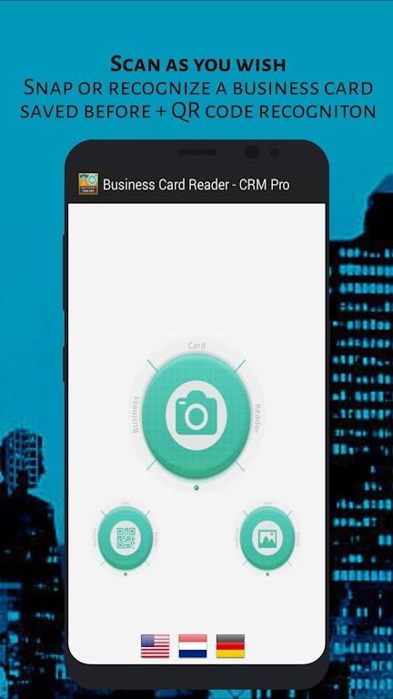 Business Card Reader - CRM Pro poster 1