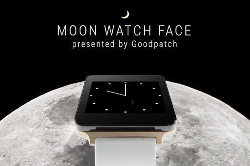Moon Watch Face Android Wear