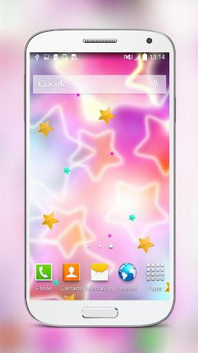 Lucky Star Glow Live Wallpaper