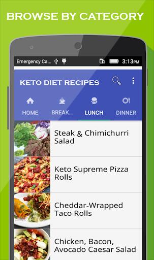 Keto Diet app : Best Low Carb & Keto Recipes 1.9 screenshots 1