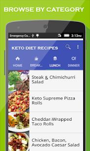 App Keto Diet app : Best Low Carb & Keto Recipes APK for Windows Phone