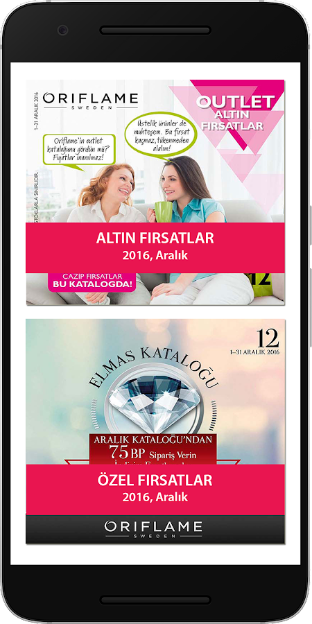 Oriflame katalog orig zellik android apps on google play for Table 6 2 ar 71 32