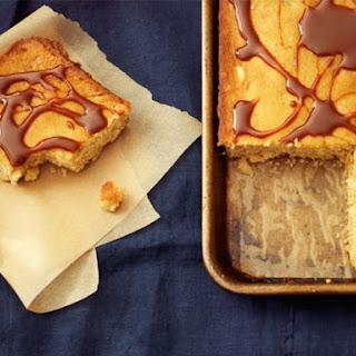 White Chocolate-Macadamia Nut Sheet Cake.