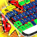 Color Bomb Keyboard