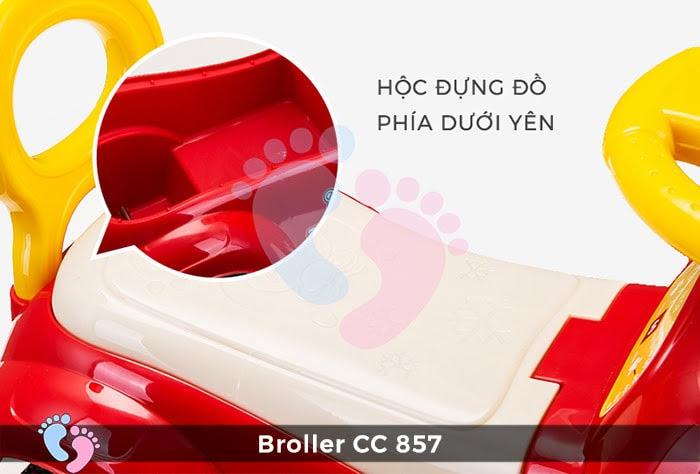 Xe chòi chân trẻ em Broller CC-857 10