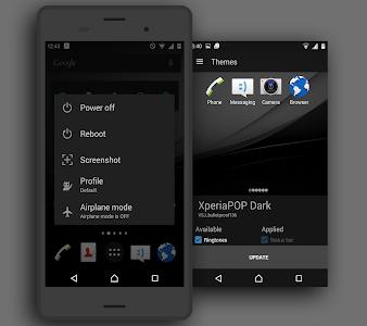 XperiaPOP Dark CM12 Theme v0.0.1