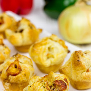 Sausage and Pepper Puffs