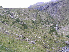 Photo: De Freissinières à Dormilliouse: confluence du torrent de Chichin