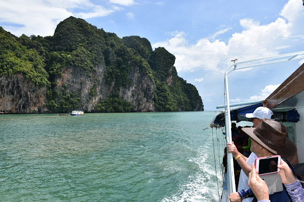 Cruise into Phang Nga Bay on board the 2 deck boat