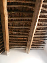 Photo: Although the structures seem modern, the roof truly was thatch!