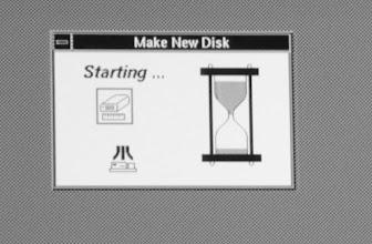 Photo: ASV disc utility splash screen