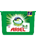 Ariel White 3-in-1, pods 16 stk