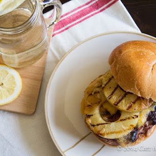 Grilled Pineapple Teriyaki Turkey Burgers