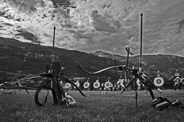 L'attesa sul campo di tiro di dMC