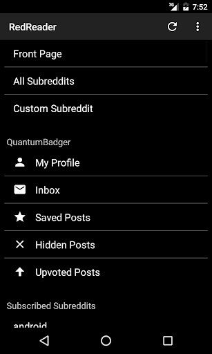 RedReader 1.11 Screenshots 3