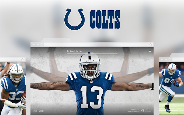 OFFICIAL NFL Indianapolis Colts HD Tab Theme