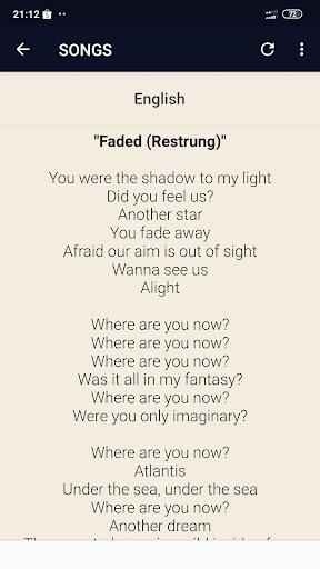 Download Alan Walker Lyrics Free For Android Alan Walker Lyrics Apk Download Steprimo Com