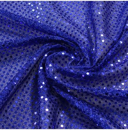 Glitterpaljett - blå