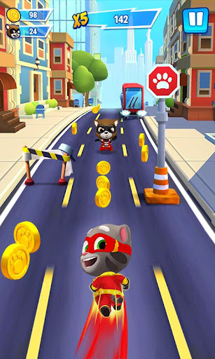 Talking Tom Hero Dash  captures d'écran 1