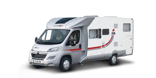 Venta y alquiler de autocaravanas ILUSION XMK 680 en Zaragoza y Huesca