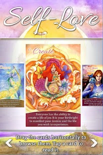 Self-Love Oracle Cards- screenshot thumbnail