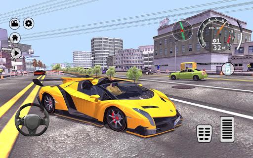 Drift Simulator: Veneno Roadster 1.0 screenshots 6