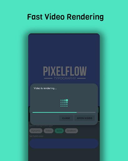PixelFlow - Intro maker and text animator screenshot 4