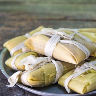 Mexican-Inspired Pork Tamales.