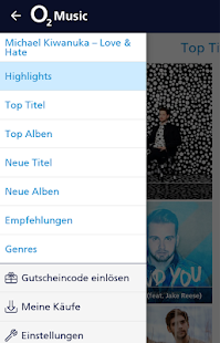 o2 Music – Miniaturansicht des Screenshots