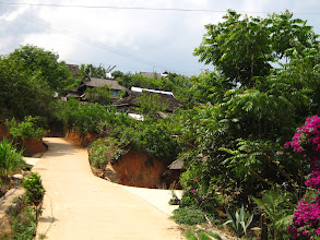 Photo: We pass through Nan Nuo Mountain Village on our way to see Nan Nuo Mountain.