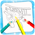 Super Coloring Book Swings icon