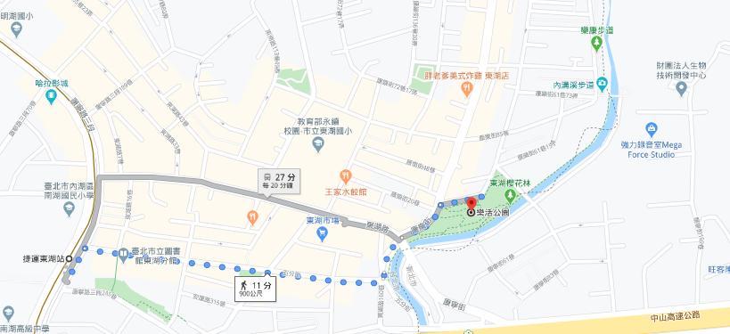樂活公園路線
