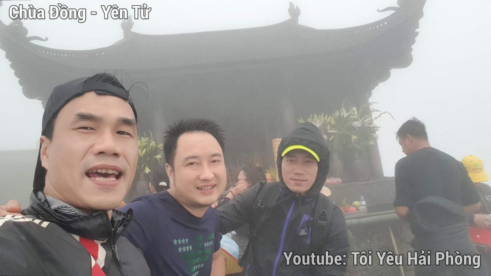 Gió quá to tại Chùa Đồng khi leo núi Yên Tử quảng ninh 4