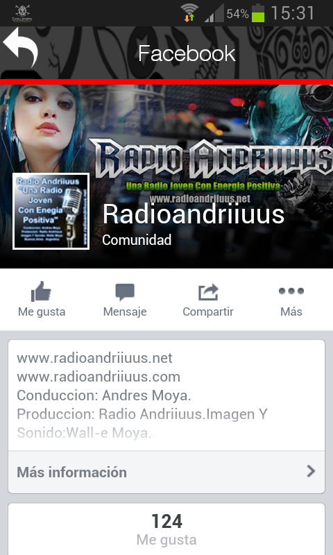 Radio Andriiuus- screenshot