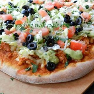 Chicken Enchilada Pizza