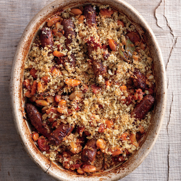 Chorizo And Gigante Bean Cassoulet Recipes — Dishmaps