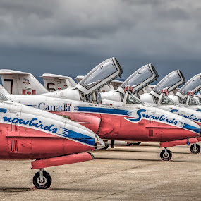 Ready to fly by Randy Burt - Transportation Airplanes