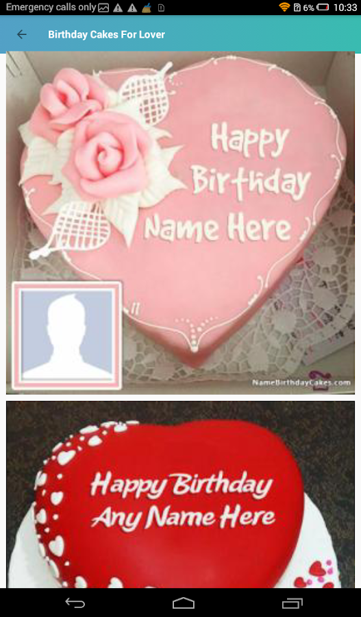 Birthday Cake With Name And Photo- screenshot