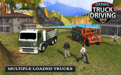 Offroad Transport Truck Driving - Jeep Driver 2019  screenshots 10