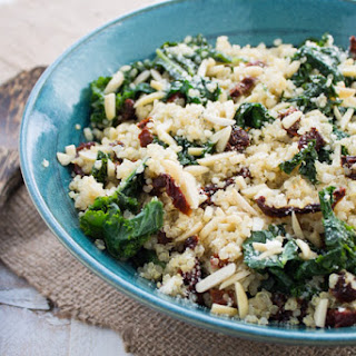 5 Ingredient Healthy Kale and Quinoa Bowl