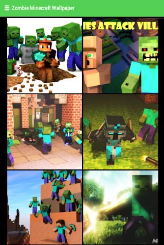 android Hintergrundbilder minecraft Screenshot 3