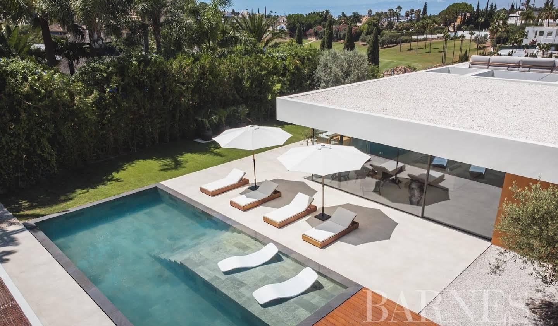 Villa avec jardin et terrasse Marbella