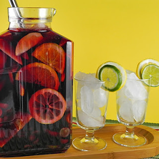 Red Sangria Apples Oranges Recipes