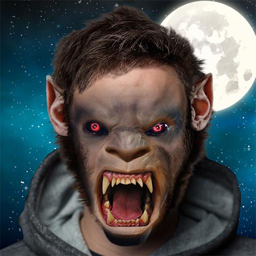 Werewolf Me: Photo Editor & Wolf Face Maker Icon