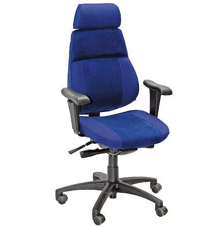 Sverigestolen 818 kompl. blå