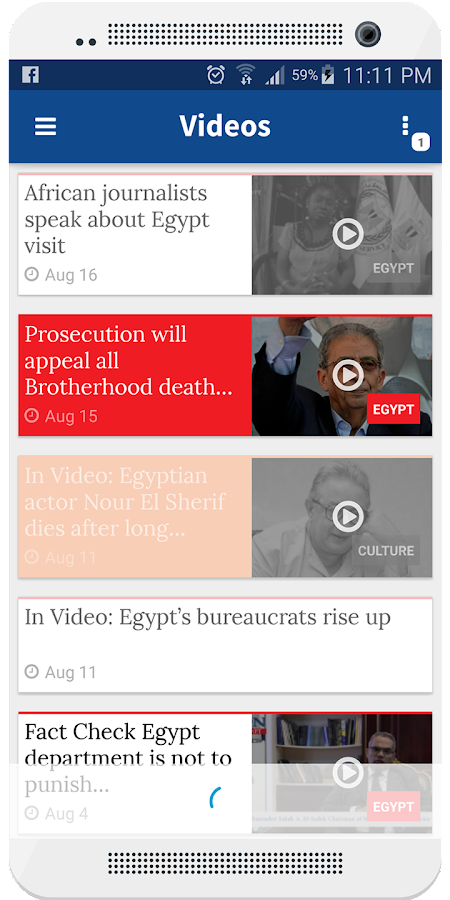 Daily News Egypt - Official- screenshot