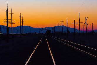 Photo: Train Names Sunset -- Niland, CA